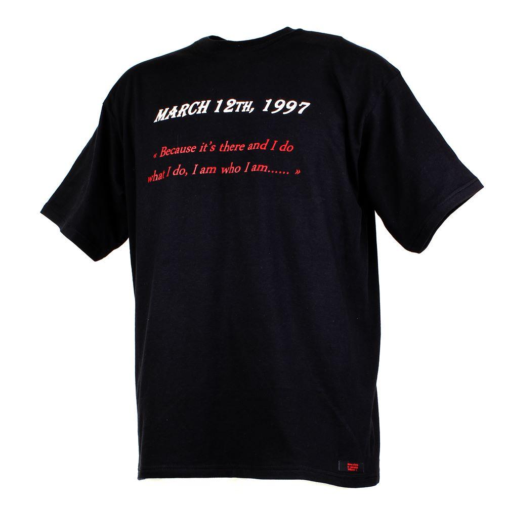"""double tee shirt black """"UNBREAKABLE"""""""