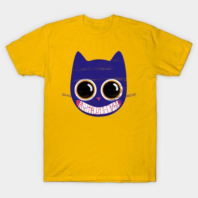 Ete the purplish cat