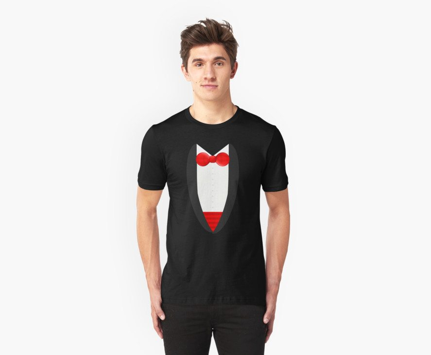 FormalFriday Tuxedo Shirt