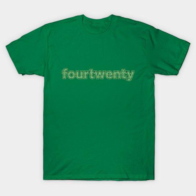 fourtwenty – weed T-Shirt