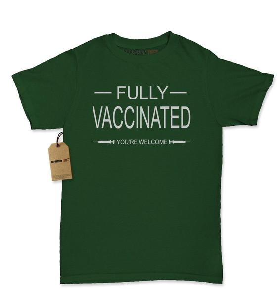 Fully Vaccinated – You're Welcome Womens T-shirt