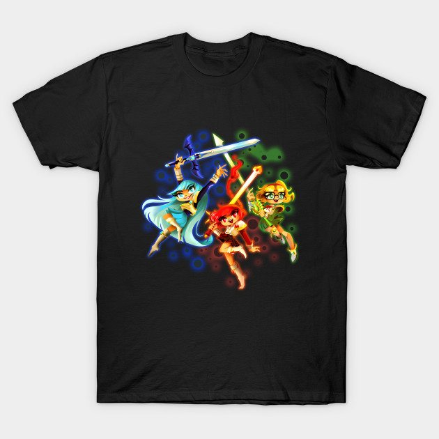 Fuu Hikaru and Umi T-Shirt
