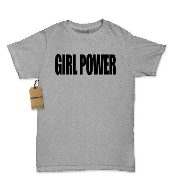 Girl Power Womens T-shirt