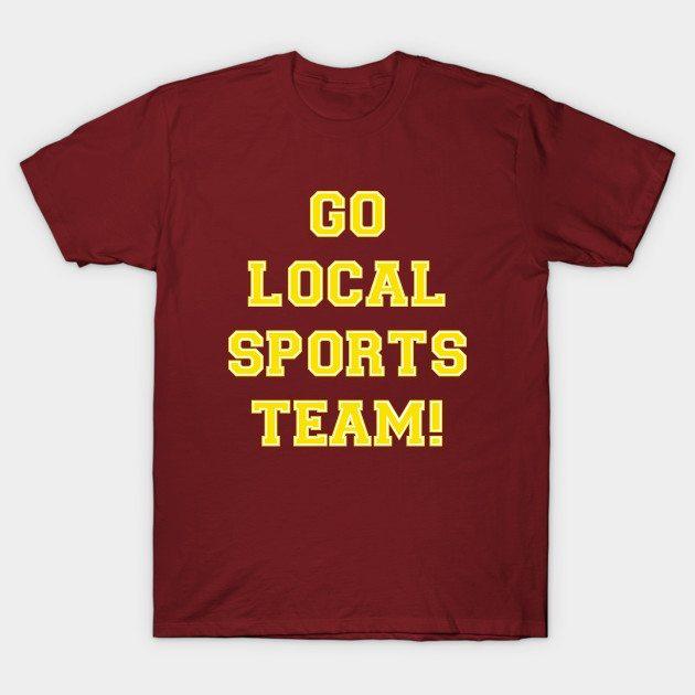 Go Sports! – Yellow T-Shirt