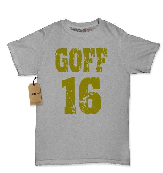 Goff #16 Los Angeles Draft Pick Womens T-shirt