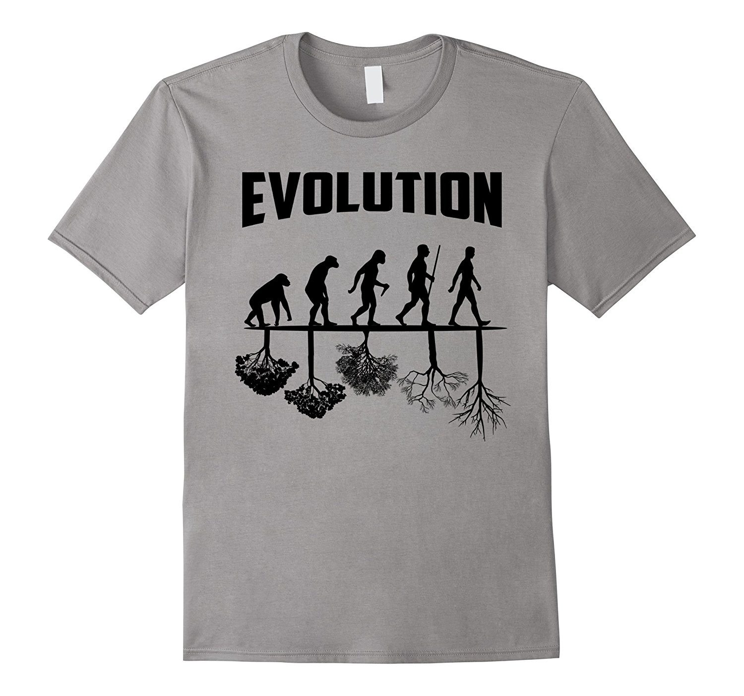 Graphic Design The Theory Of Evolution Funny