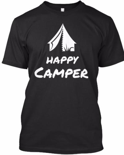 Happy Camper T-Shirts & Hoodies