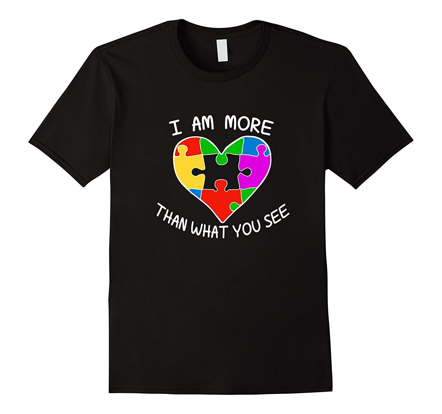 I Am More Than What You See Tshirt Autism Awareness