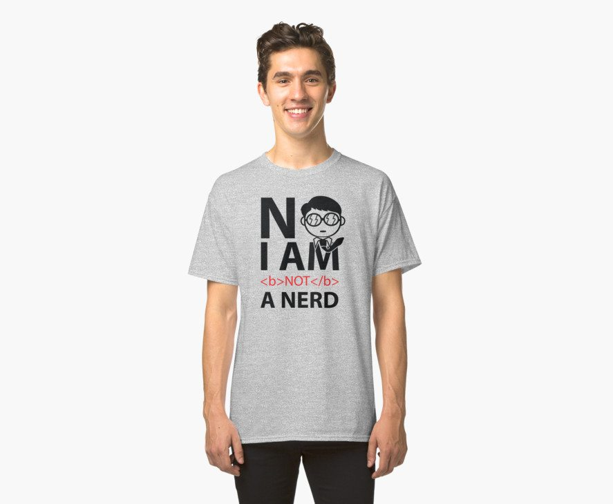 I am Not Nerd (color Version)