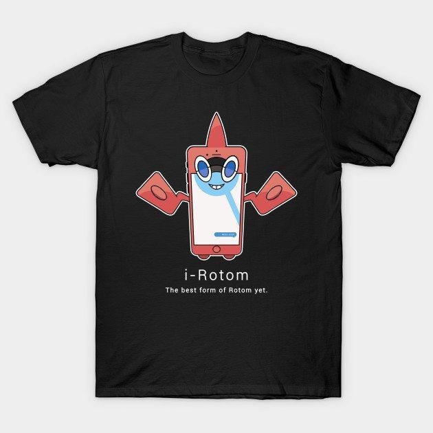 i-Rotom (for Darker Colors)