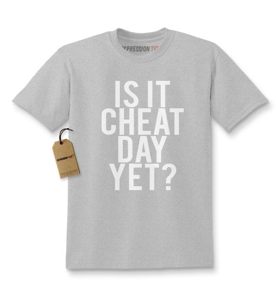 Is It Cheat Day Yet? Kids T-shirt