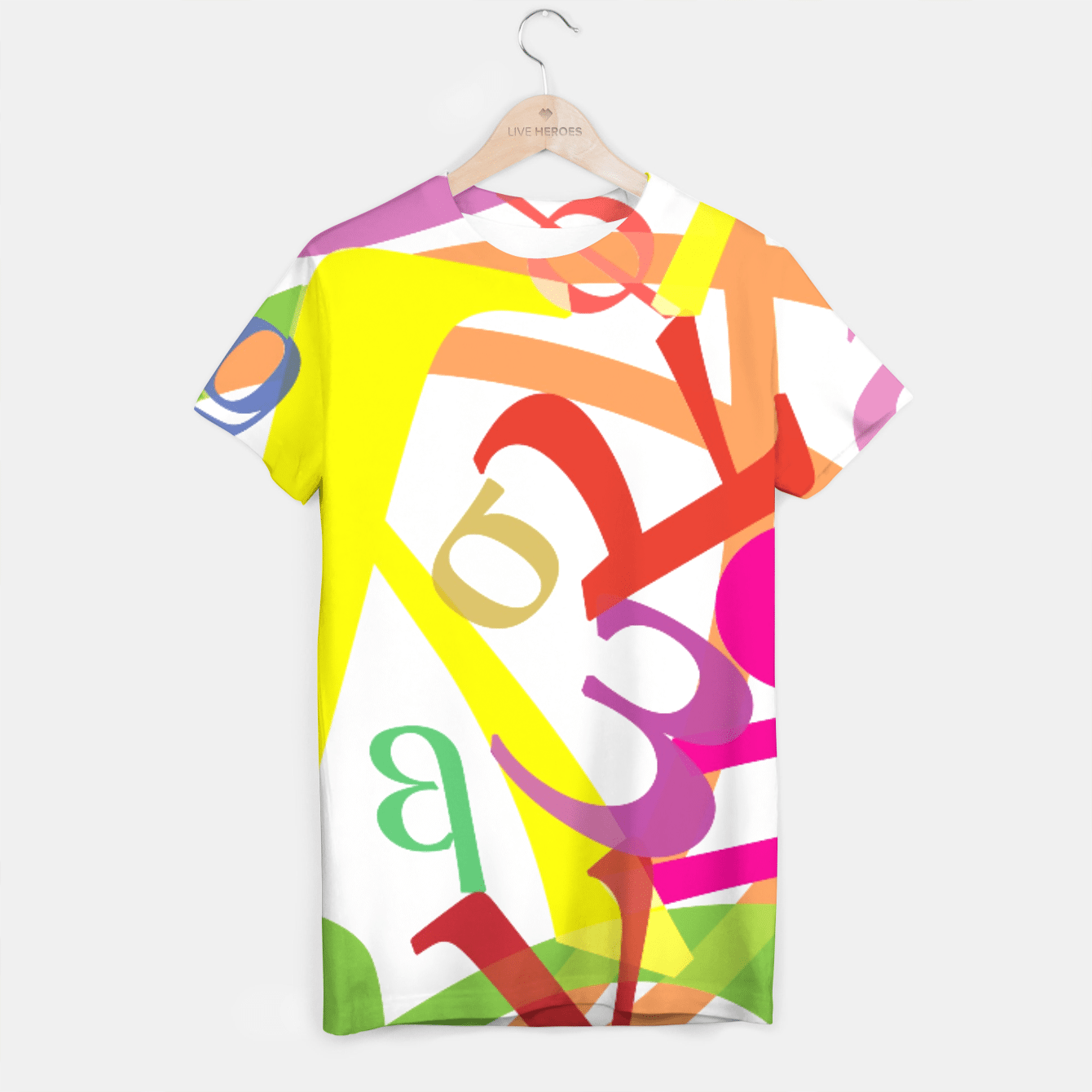 Joy T-shirt, Live Heroes