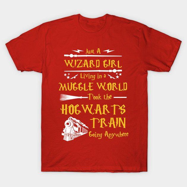 Just a wizard girl T-Shirt