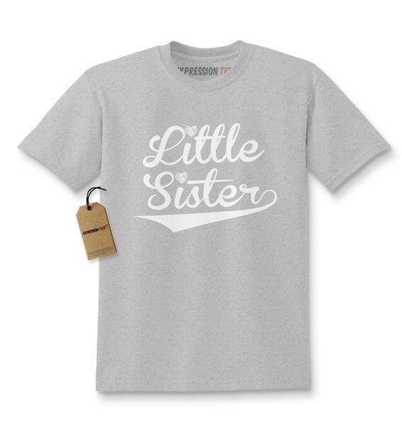 Little Sister Siblings Kids T-shirt