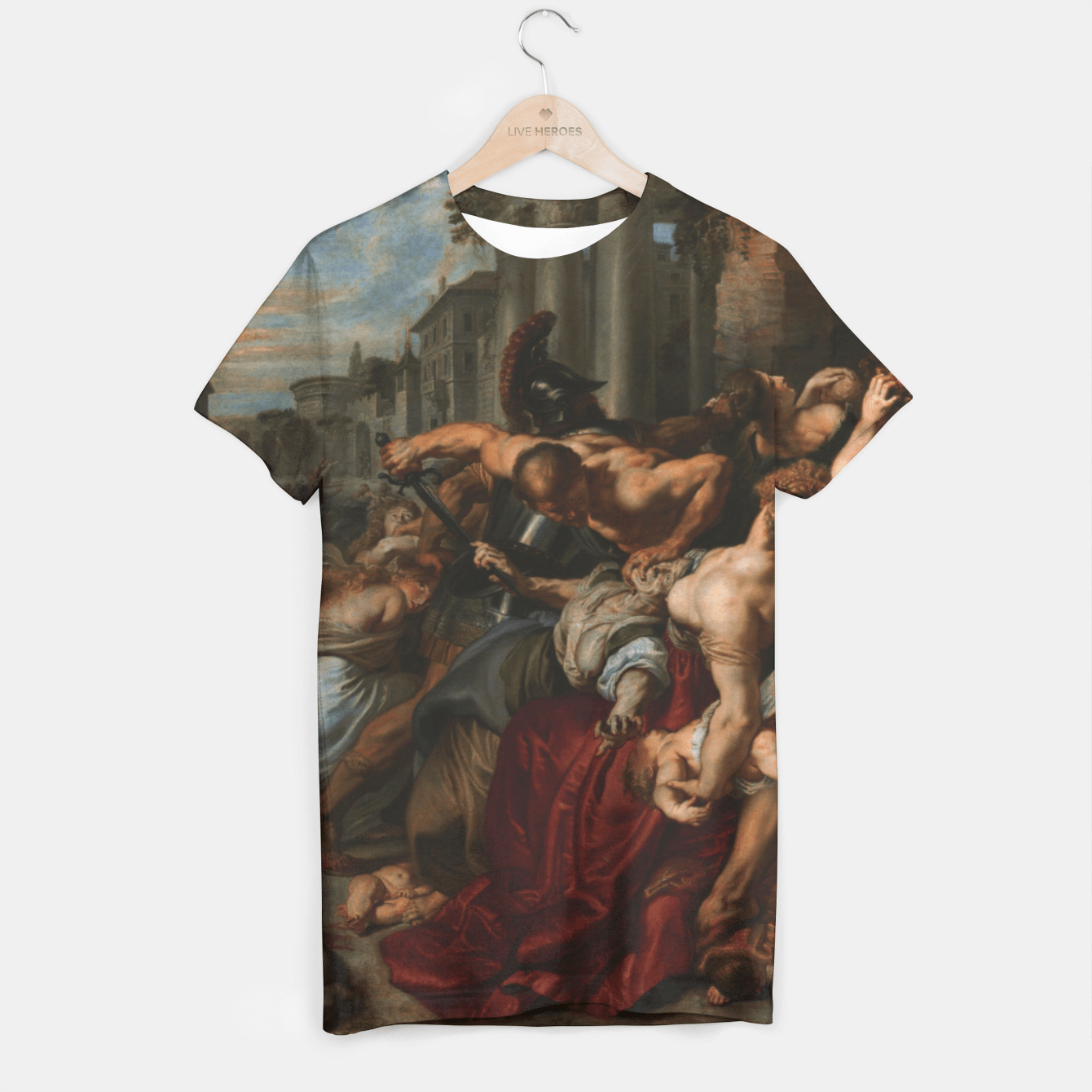 MASSACRE OF THE iNNOCENTS BY RUBENS T-shirt, Live Heroes