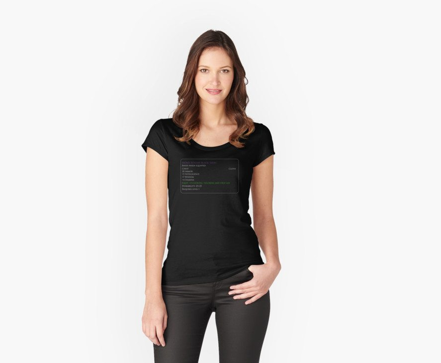 Mom's Black Shirt