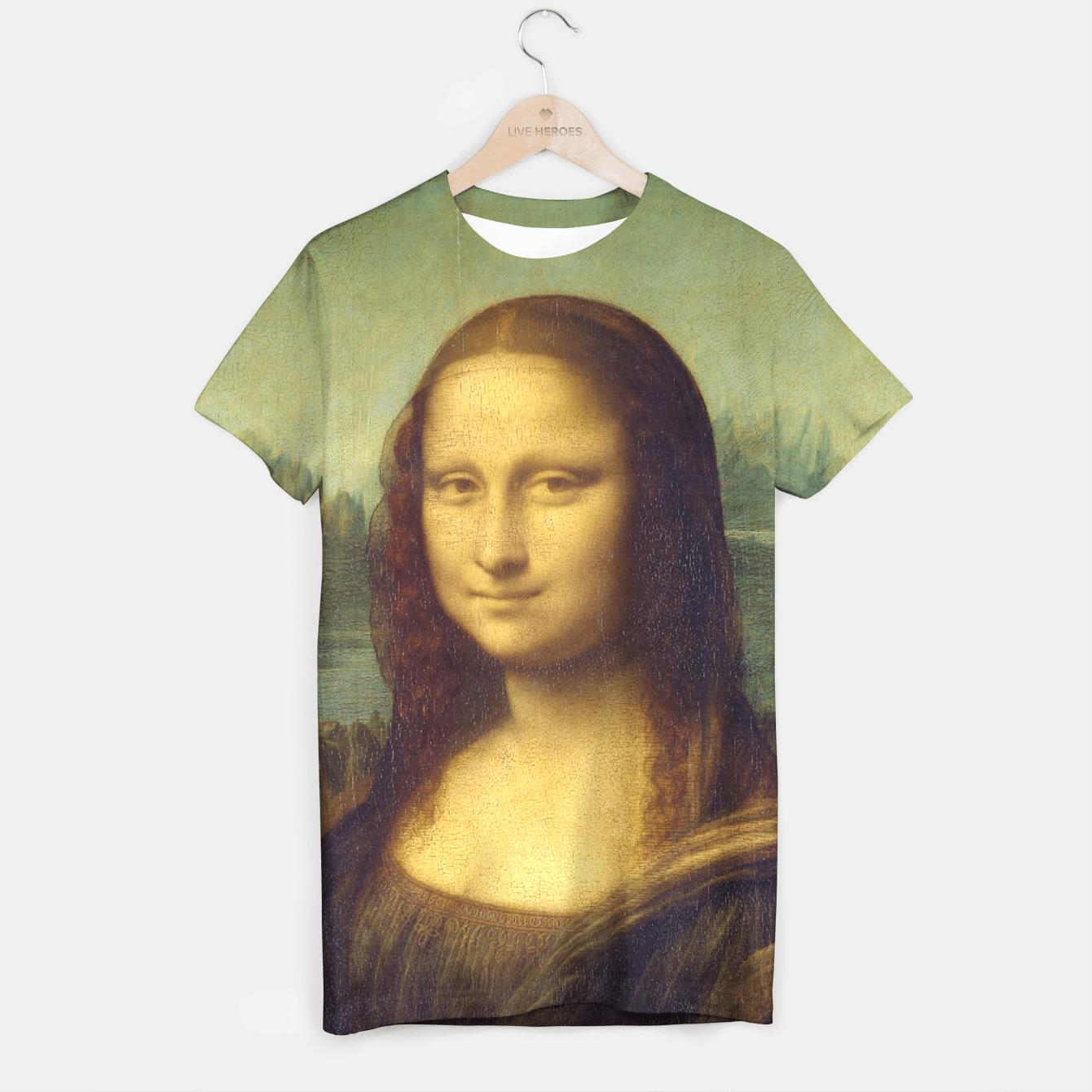 MONA LiSA BY LEONARDO DA ViNCi T-shirt, Live Heroes