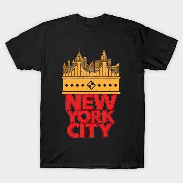 New York City – Skyline T-Shirt