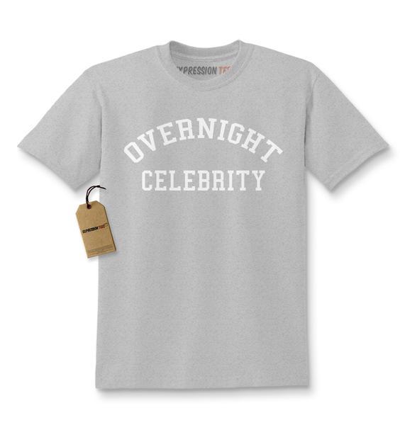 Overnight Celebrity Kids T-shirt