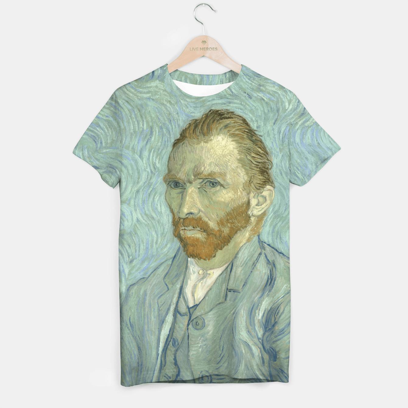 SELF PORTRAiT BY ViNCENT VAN GOGH T-shirt, Live Heroes