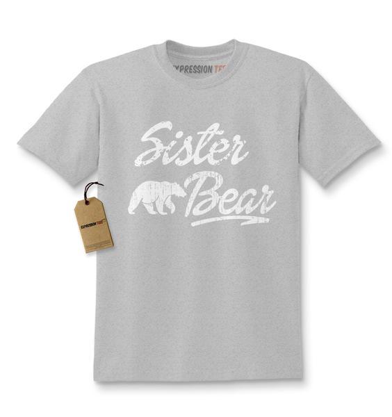 Sister Bear Cub Family Kids T-shirt