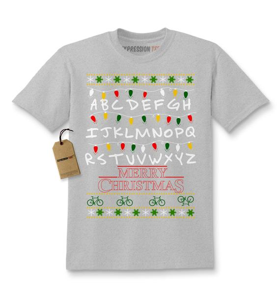 Strange Merry Christmas Ugly Holiday  Kids T-shirt
