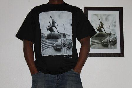 tee shirt classique AI -David GOMEZ-HOMME NOIR (David GOMEZ- Collection CLASSIK wainao – saison 1 – based on UNBREAKABLE 2nd ai vs Sratue 23)