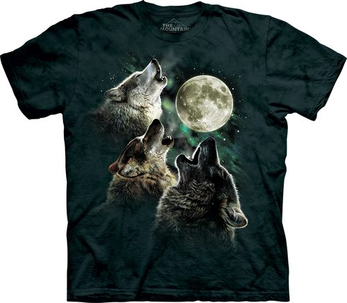Three Wolf Moon Classic T-Shirt