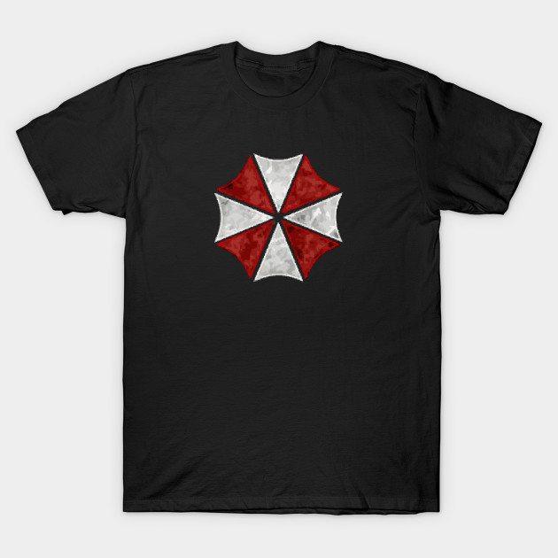 Umbrella Corp Art Logo T-Shirt