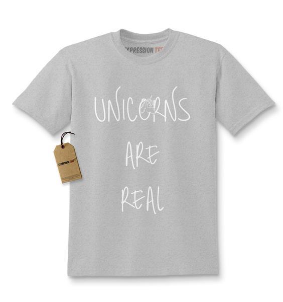 Unicorns Are Real Kids T-shirt