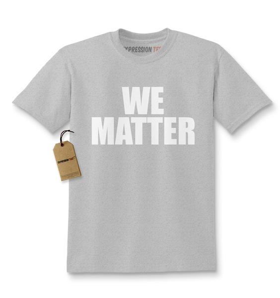 We Matter Equal Rights Kids T-shirt