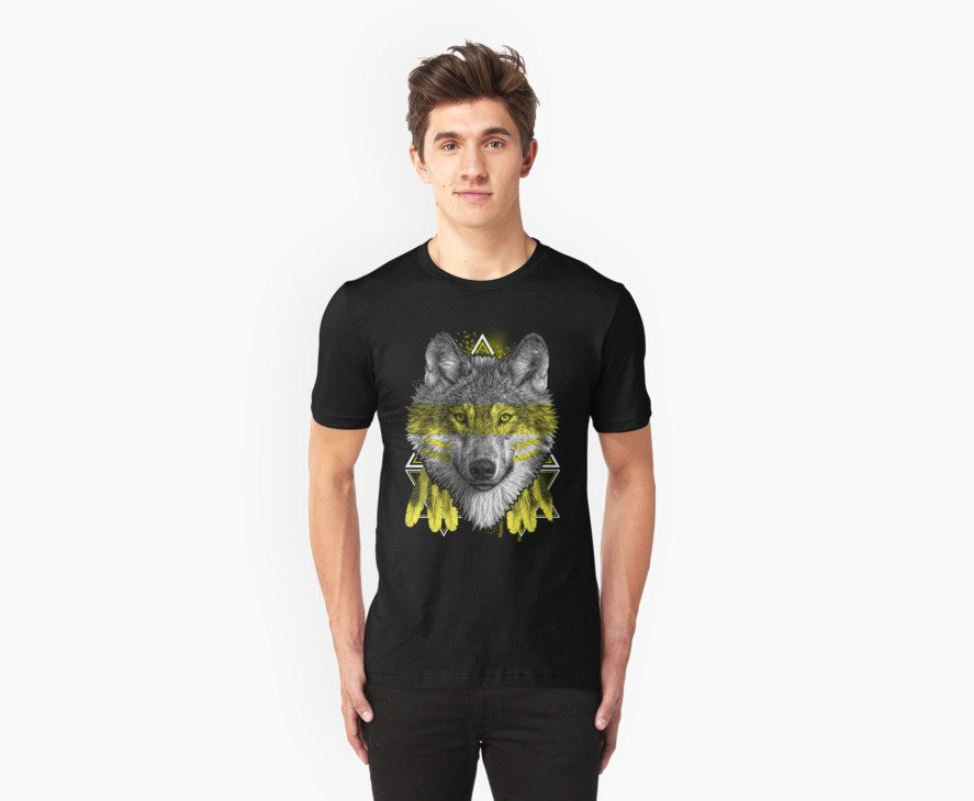 Wolf Face Dream Catcher