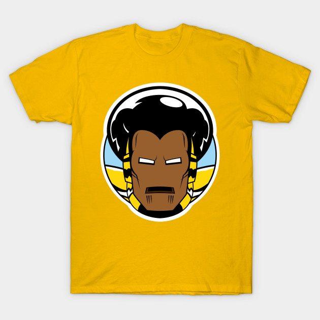 Black Iron-Man T-Shirt