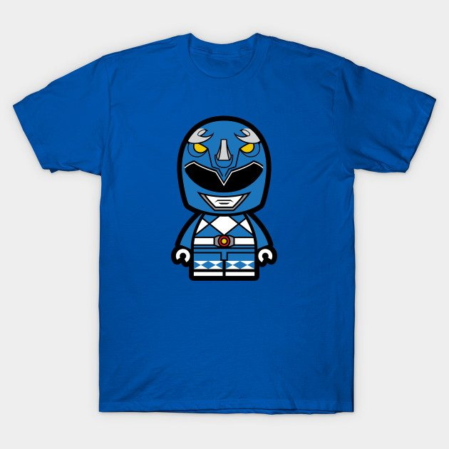 Blue Power Chibi Ranger T-Shirt