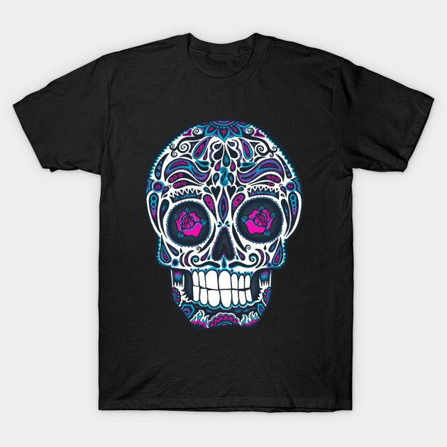 Calavera4 – Neon T-Shirt