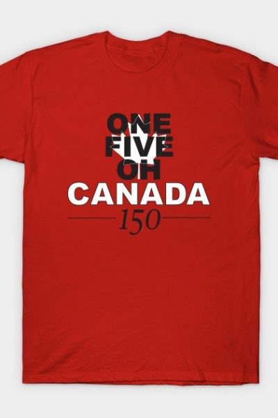 Canada 150 – Red T-Shirt