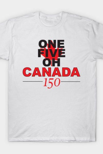 Canada 150 – white T-Shirt