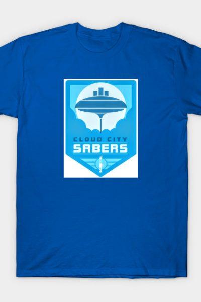 Cloud City Sabers Logo T-Shirt