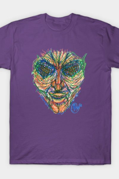 Color Cracked T-Shirt