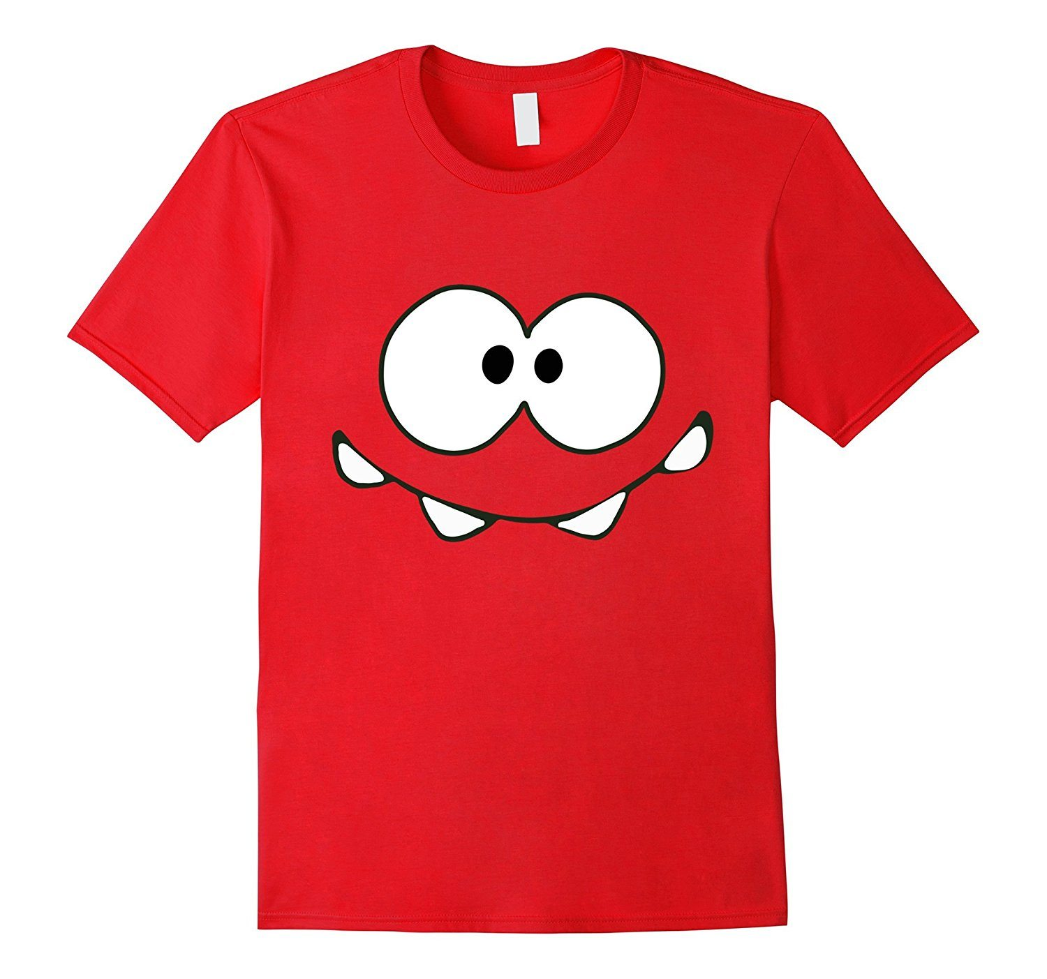 Cool Happy Monster Face T-shirt Cute Smily Face Kids Tshirt