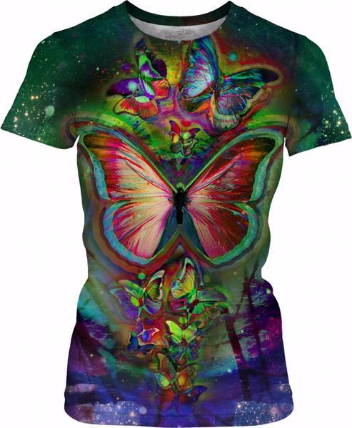 Dark Butterflies Dream Galaxy