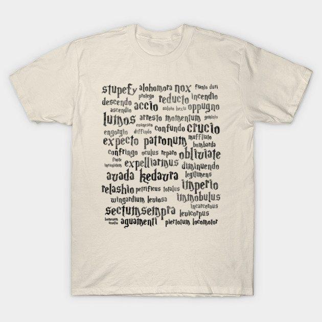 Harry Potter spells T-Shirt