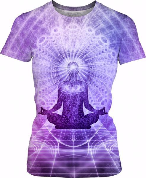 Holy Yoga Lotus Meditation Violet