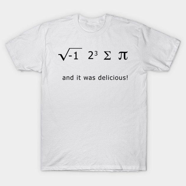 Homer And The Math Joke T-Shirt