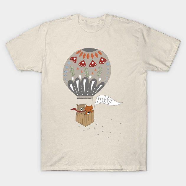 Hot Air Terrarium T-Shirt