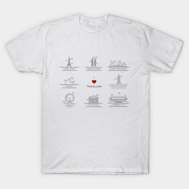 I love travelling T-Shirt