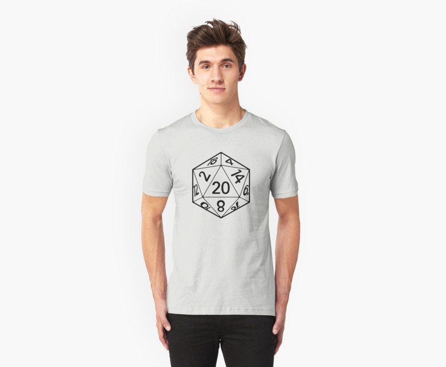 Icosahedron Die