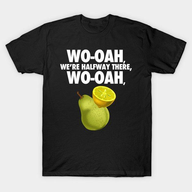 lemon on a pear – funny misheard lyrics T-Shirt