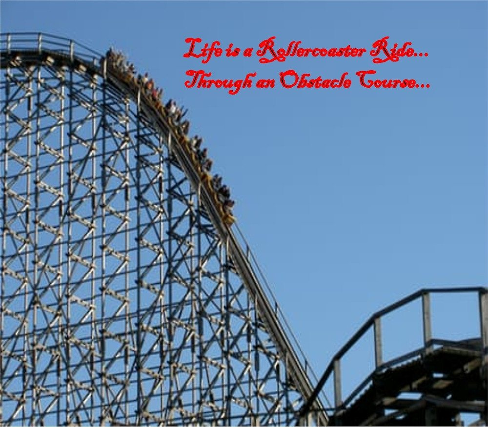 Life is a Rollercoaster Ride Through an Obstacle Course