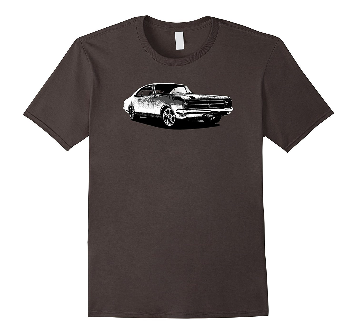 Men's Classic Muscle Car Sketch Graphic
